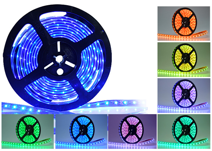 LED strip colored