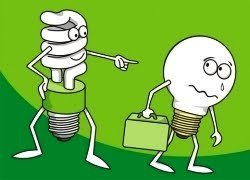 Incandescent Light Bulbs vs CFLs 1