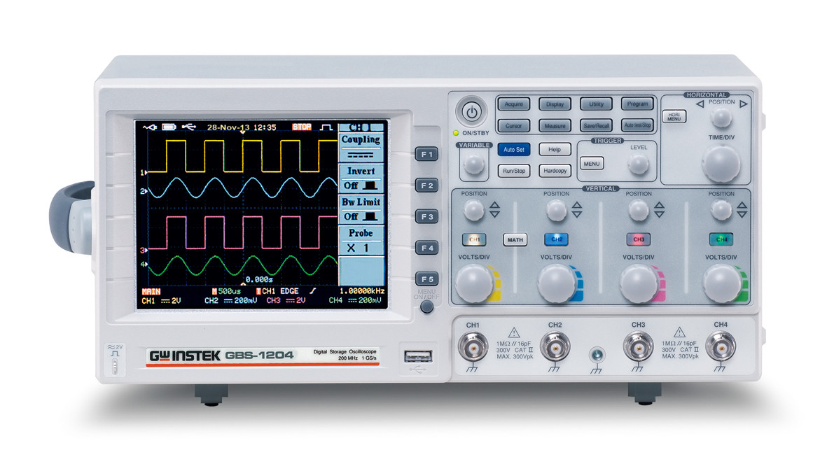 Photo of Oscilloscope