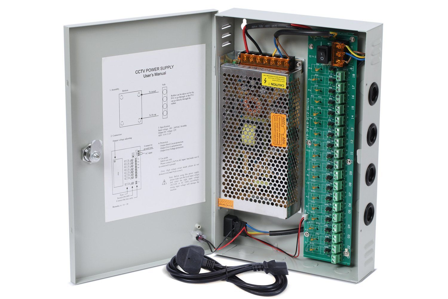 Photo of Design and construction of power supply for video-surveillance systems