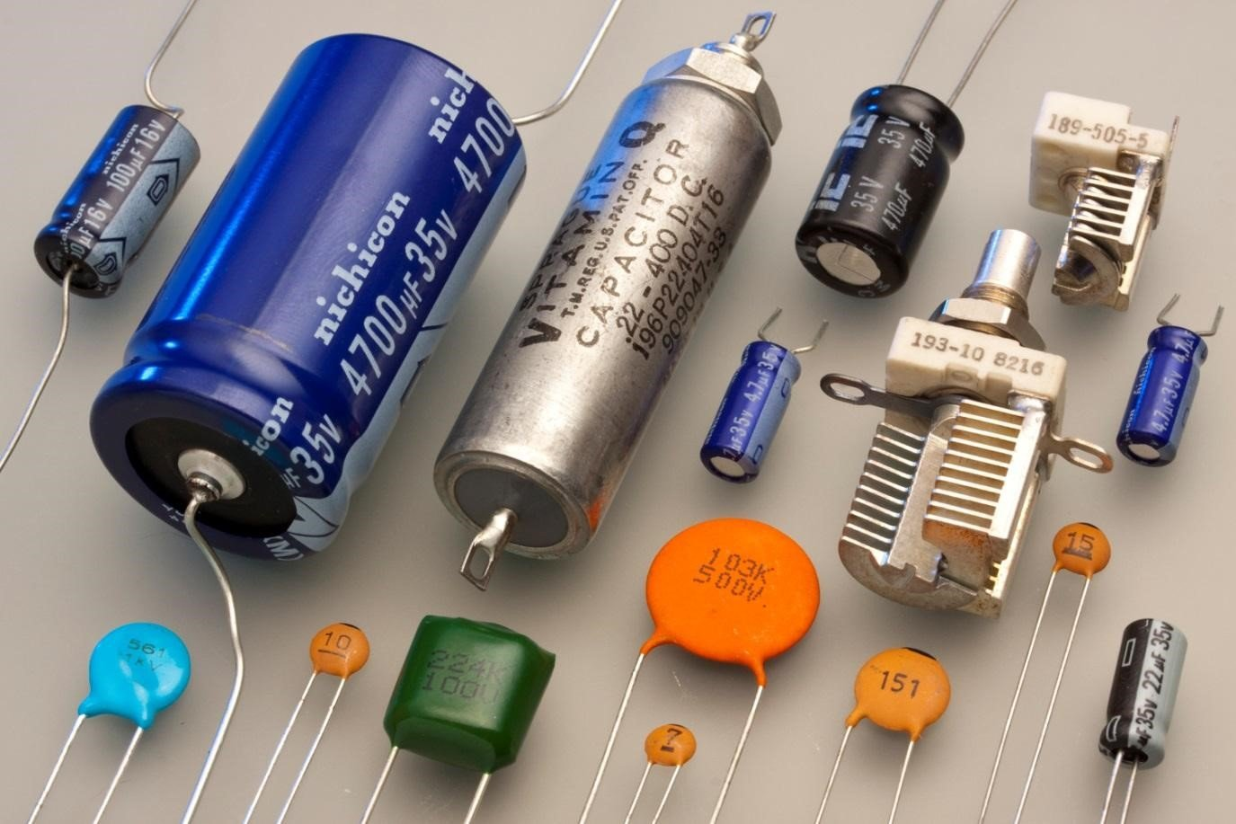 Photo of Capacitors