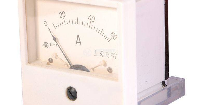 Photo of Ammeter