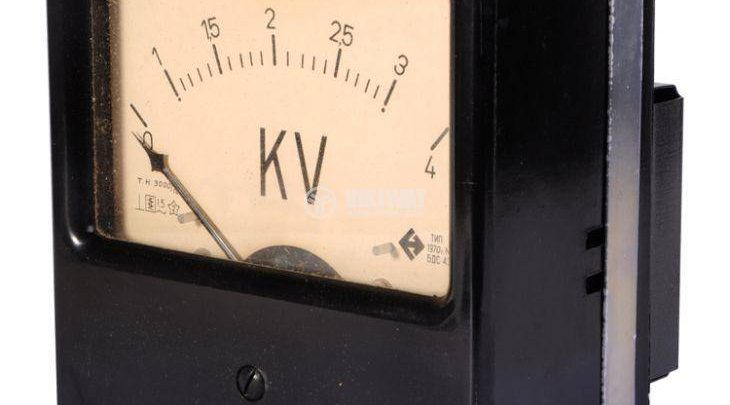 Photo of Voltmeter