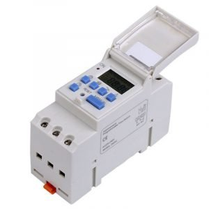 Photoelectric timer, weekly programmable, with astronomical correlation for DIN rail 1