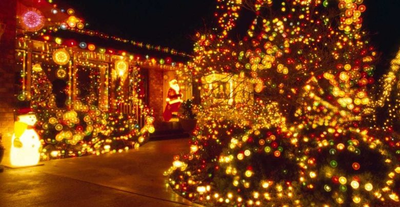 Photo of Christmas decorations