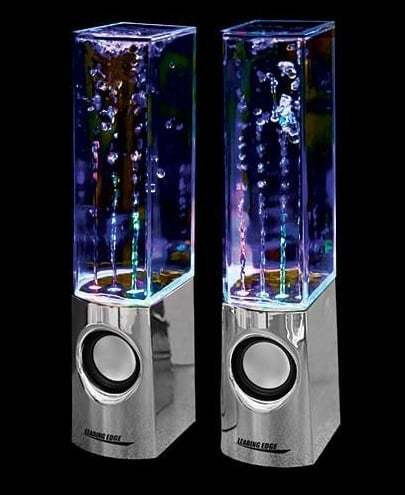dance water speakers