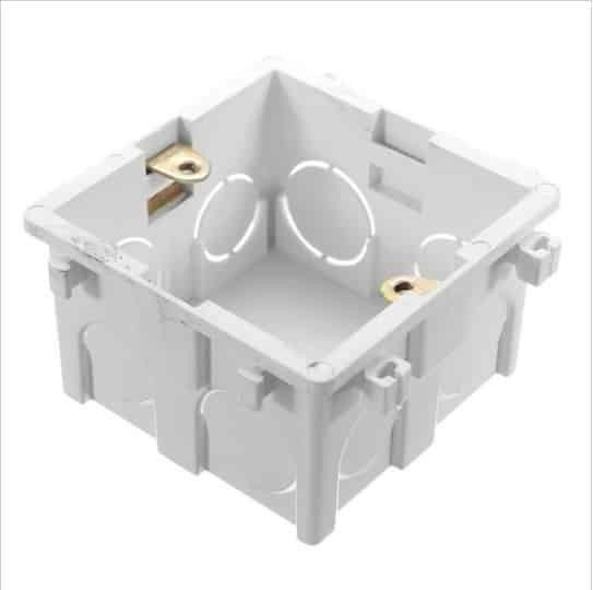 Wallpad-For-86-86mm-Wall-Switch-Socket-Mounting-Plastic-font-b-Electrical-b-font-Junction-font 1