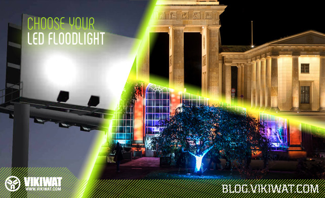 Where to use LED flood lights 1