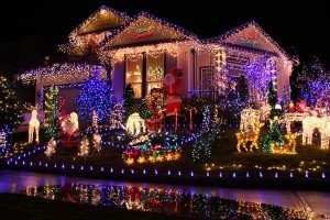Beautiful Christmas lights display. 1