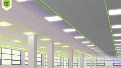 What type of LED lighting to choose for a dropped ceiling